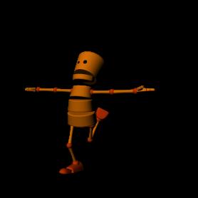 Nic Balanced Pose